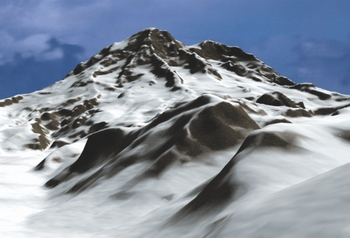 超梦幻教程:3DSMAX中打造巍巍雪山
