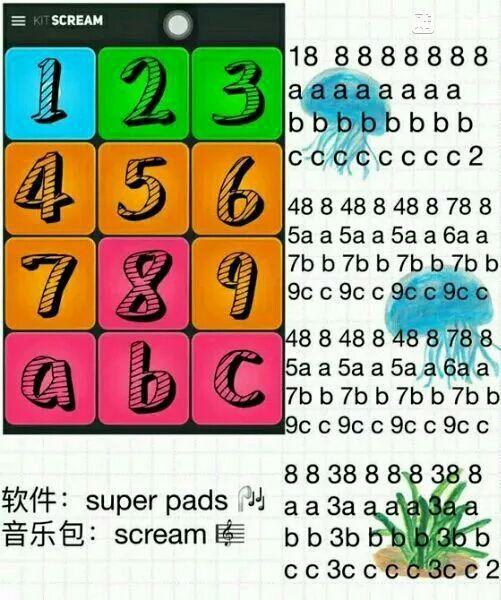 super pads怎么玩? Super PadsScream谱子教学介绍