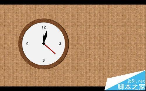 超级炫酷!wps怎么制作时钟走动一小时的动画效果?