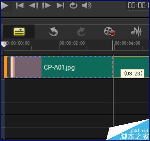 会声会影插入的图片怎么设置的默认时间长度呢?