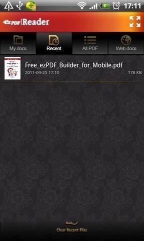 PDF阅读器ezPDF软件截图1